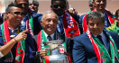 Inilah Ucapan Presiden Portugal Saat Mengangkat Trofi Euro 2016 - JPNN.com