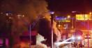 Flyover Terbakar, 90 Menit Kemudian Ambruk - JPNN.com