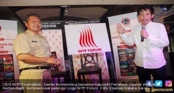 Logo Baru Wtp Forum 2017 Dorong Indonesia Jadi Taman Wisata
