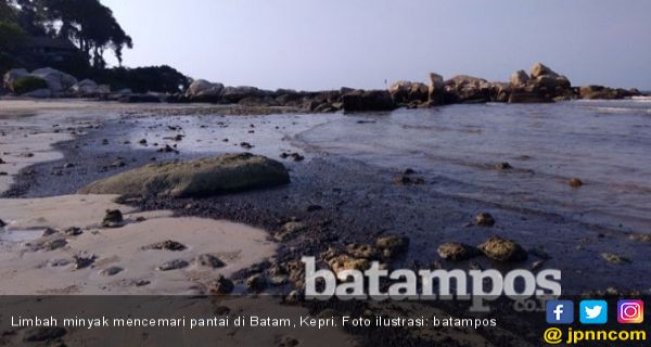 Perairan Batam-Bintan Kembali Tercemar Limbah Minyak - JPNN.COM