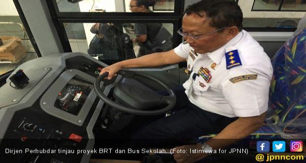Pemerintah Kaji Bus Amfibi Jadi Moda Transportasi di Calon Ibu Kota Negara - JPNN.COM