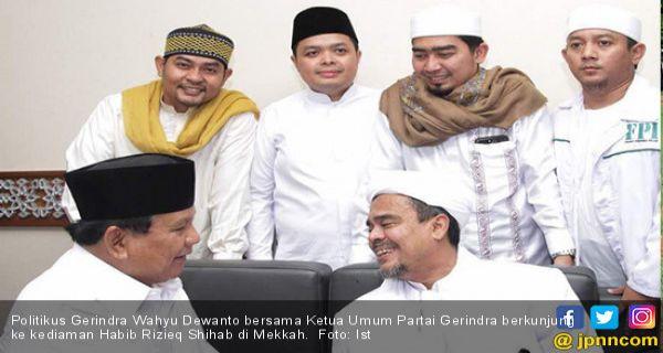 Catat! Prabowo Subianto jadi Menhan, Belum Tentu Rizieq Shihab Bisa Pulang - JPNN.COM