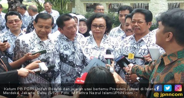 Ketum PGRI Sampaikan Masalah Honorer dan PPPK ke Presiden - JPNN.COM