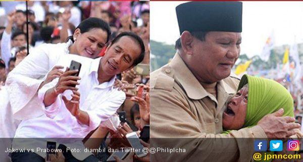 Lucunya Meme Jokowi Vs Prabowo Dalam