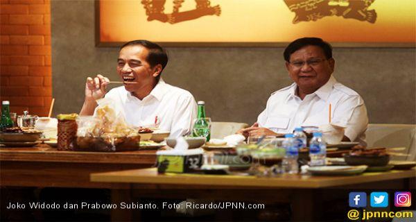 Jokowi dan Pak Prabowo Sepakat Ucapkan Selamat Tinggal Cebong dan Kampret - JPNN.COM