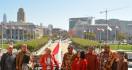 HUT ke-74 RI: Merah Putih Berkibar di Balai Kota San Francisco - JPNN.com