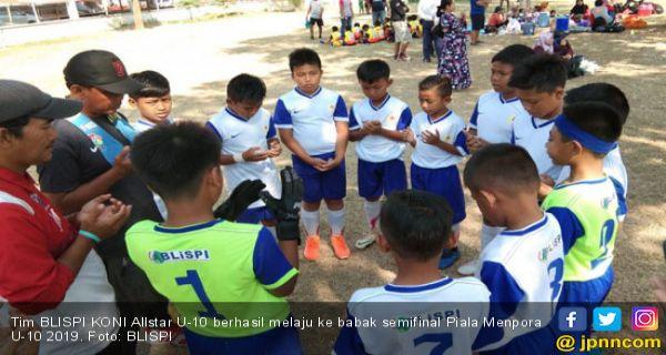 BLISPI KONI Allstar Tembus Semifinal Piala Menpora U-10 Seri Nasional - JPNN.COM