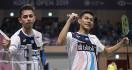 Menegangkan, FajRi Pukul Minions di 8 Besar Malaysia Masters 2020 - JPNN.com