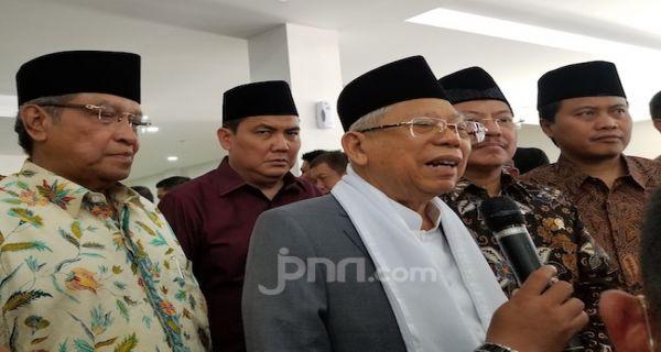 Kata Wapres Ma'ruf Amin soal Aksi Bom Bunuh Diri di Medan - JPNN.COM