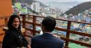 Nikmati Makanan Khas Korsel di Desa Gamcheon, Jokowi: Bisa jadi Inspirasi - JPNN.com