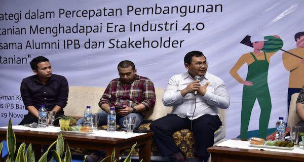 Kementan dan Alumni IPB Dorong ABGC untuk Pembangunan Pertanian - JPNN.COM