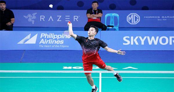 Final Badminton SEA Games 2019: Ginting Menang, Indonesia 2, Malaysia 1 - JPNN.COM