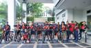 Sambut HUT Armada 2019, Danlantamal III Jakarta Gowes Bersama Prajurit - JPNN.com