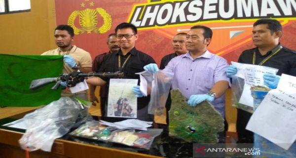 Polisi Amankan Senpi dan Granat Kelompok Kriminal Bersenjata di Aceh - JPNN.COM