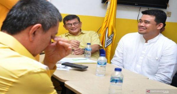 Bobby Nasution Menantu Jokowi Kembalikan Formulir Pendaftaran ke Golkar - JPNN.COM