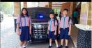 Istimewa, Tiga Bocah SD Dikawal Ketat Ikut Rapat di Ruang Kerja Menteri Siti - JPNN.com
