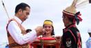 Jokowi Dapat Gelar Derayeh Acang Aco dari Dayak Lundayeh di Kaltara - JPNN.com