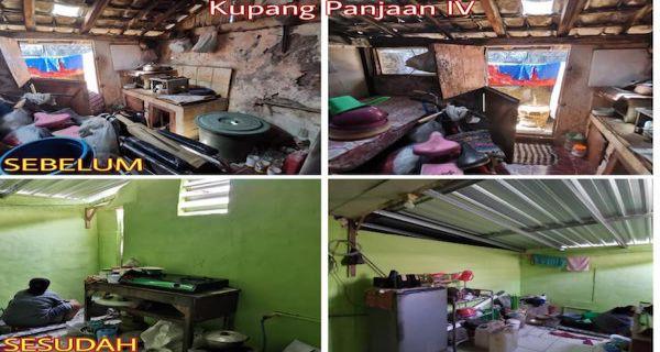 Lantamal V – Yasbhum Bedah Rumah Purnawirawan TNI AL - JPNN.COM
