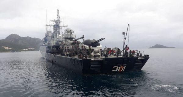 Kunjungi Perairan Natuna, Meutya Hafid: TNI dan Bakamla Sudah Siap Siaga - JPNN.COM