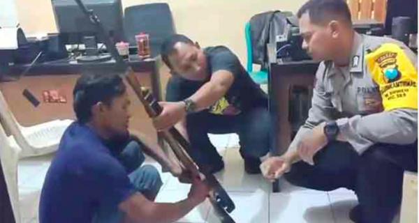 Ceroboh Mencoba Senapan Angin, Tembak Mati Teman Sendiri - JPNN.COM