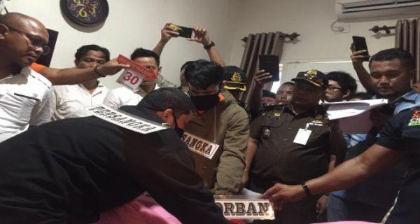 Reka Ulang Tahap Dua, Pembunuh Hakim PN Medan Jamaluddin Peragakan 77 Adegan - JPNN.COM