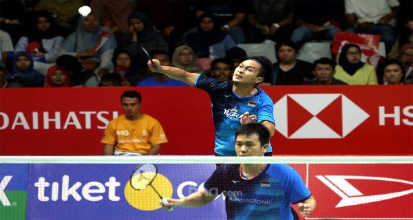 Daddies Sempat Panik Sebelum Masuk Semifinal Indonesia Masters 2020 - JPNN.COM