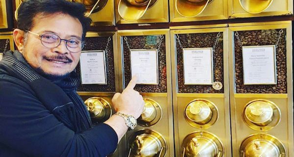 Mentan Syahrul Bangga Kopi Blawan Dihargai Mahal di Jerman - JPNN.COM