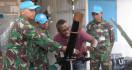 Satgas TNI RDB Terima Kunjungan COE Bukavu di Kongo - JPNN.com
