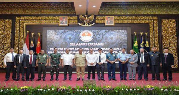 Menhan Prabowo Subianto Terima Perwakilan BPK - JPNN.COM