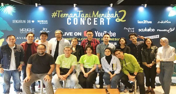 11 Musisi Ramaikan Konser 'Teman Tapi Menikah 2' - JPNN.COM