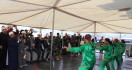 Siswa SMA Azhar Lublan Lebanon Tur ke Kapal Perang TNI AL - JPNN.com