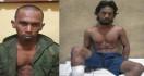 Ekspresi Buronan Kasus Pemerkosaan Sebelum dan Setelah Ditembak Polisi - JPNN.com