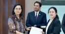 Temui Pimpinan DPR, Bu Menkeu Beber Perincian Dana Penanggulangan Corona - JPNN.com