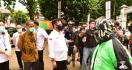 Para Driver Ojek Online Menyampaikan Permintaan Khusus pada Menteri Syahrul - JPNN.com