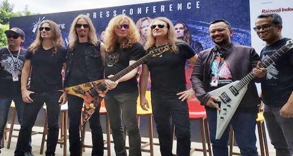 Bantu Lawan Corona, Anas Lelang Gitar Bertanda Tangan Megadeth ...