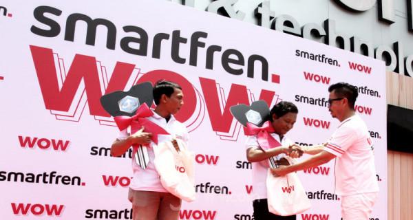 Pembagian Hadiah Undian Smartfren WOW - JPNN.com