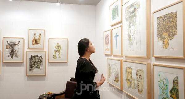 Pameran Seni Rupa Butet Kartaredjasa dan Widiyatno - JPNN.com
