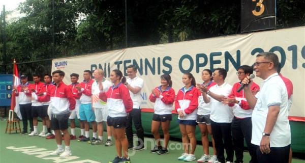 Ketua Umum PP Pelti Berikan Dukungan Kepada Timnas Tenis - JPNN.com