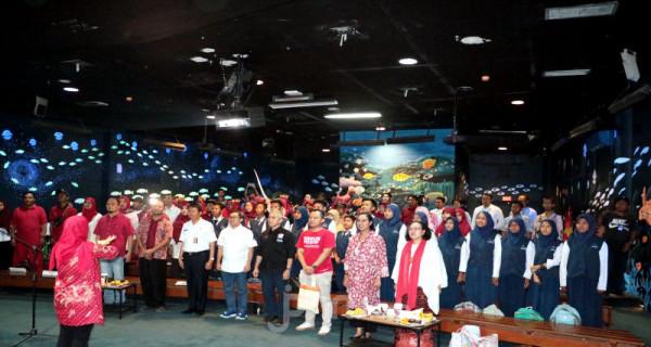 Pembukaan acara Talk show Sekolah Rakyat Ancol (SRA)