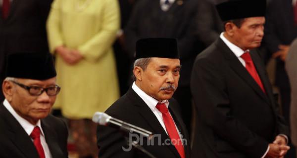 Anggota Dewan Pengawas KPK Syamsuddin Haris Foto: Ricardo - JPNN.com