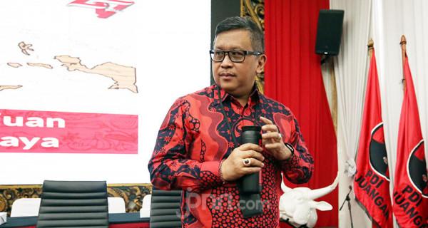 Sekjen PDI Perjuangan Hasto Kristiyanto. Foto: Ricardo - JPNN.com