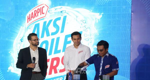 Kampanye Aksi Toilet 10X Lebih Bersih Bersama Harpic - JPNN.com