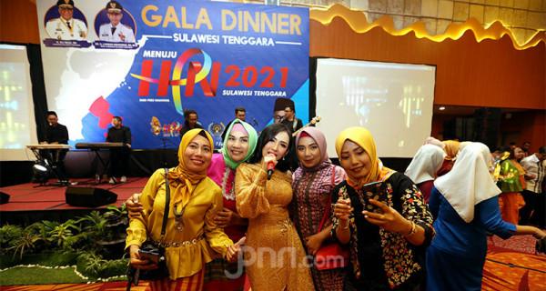 Ucie Sucita Meriahkan Gala Dinner HPN 2020 - JPNN.com