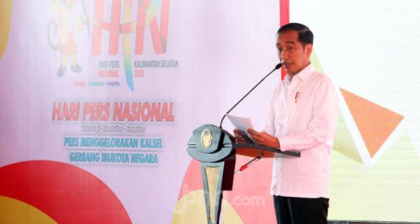 Presiden Jokowi Hadiri Peringatan HPN 2020 - JPNN.com