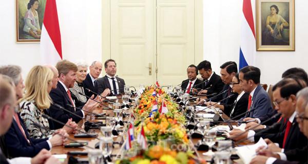 Presiden Jokowi Sambut Raja dan Ratu Belanda - JPNN.com