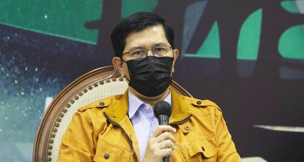 Direktur Information and Communication Technology atau ICT Institute Heru Sutadi saat menjadi pembicara pada diskusi Urgensi RUU Perlindungan Data Pribadi, Jakarta, Selasa (8/6). Foto: Ricardo - JPNN.com
